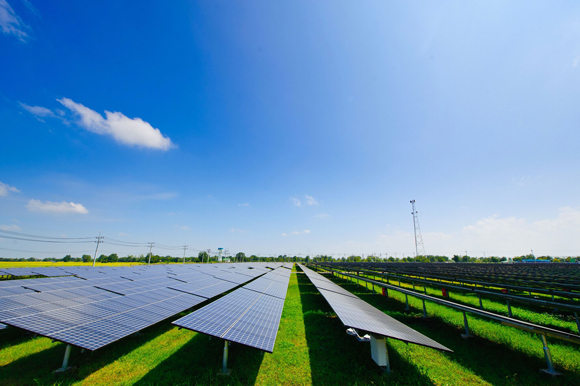 7.46MW solar power plant in Korat, Thailand