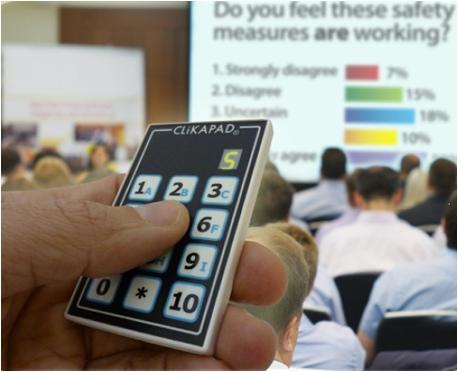 CLiKAPAD Audience Response System