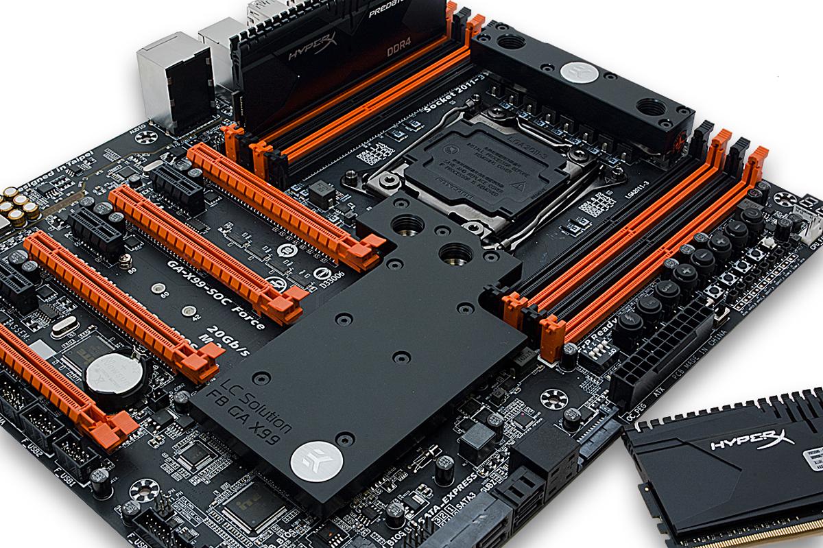 New EKWB GIGABYTE X99 Motherboards