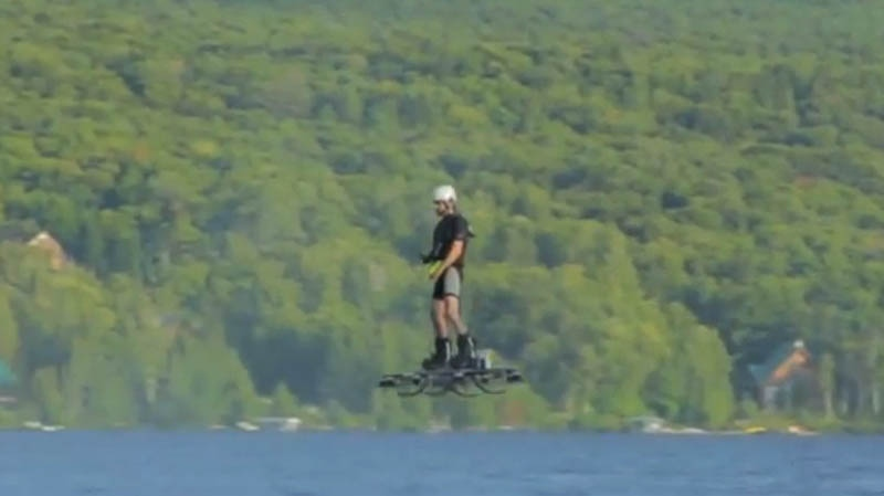 Hoverboard-Flying