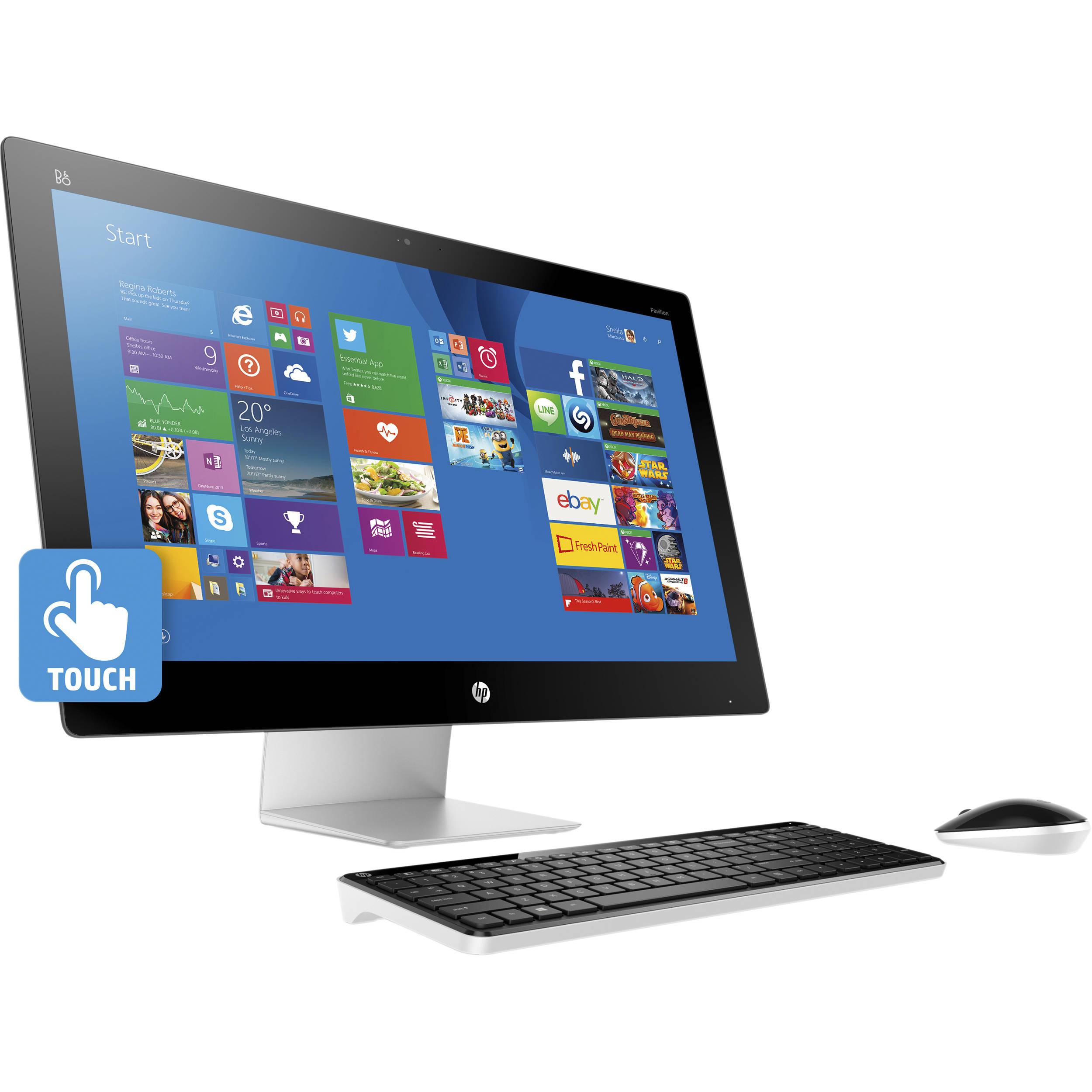 Hp Released New Pavilion All In One Desktop Pc