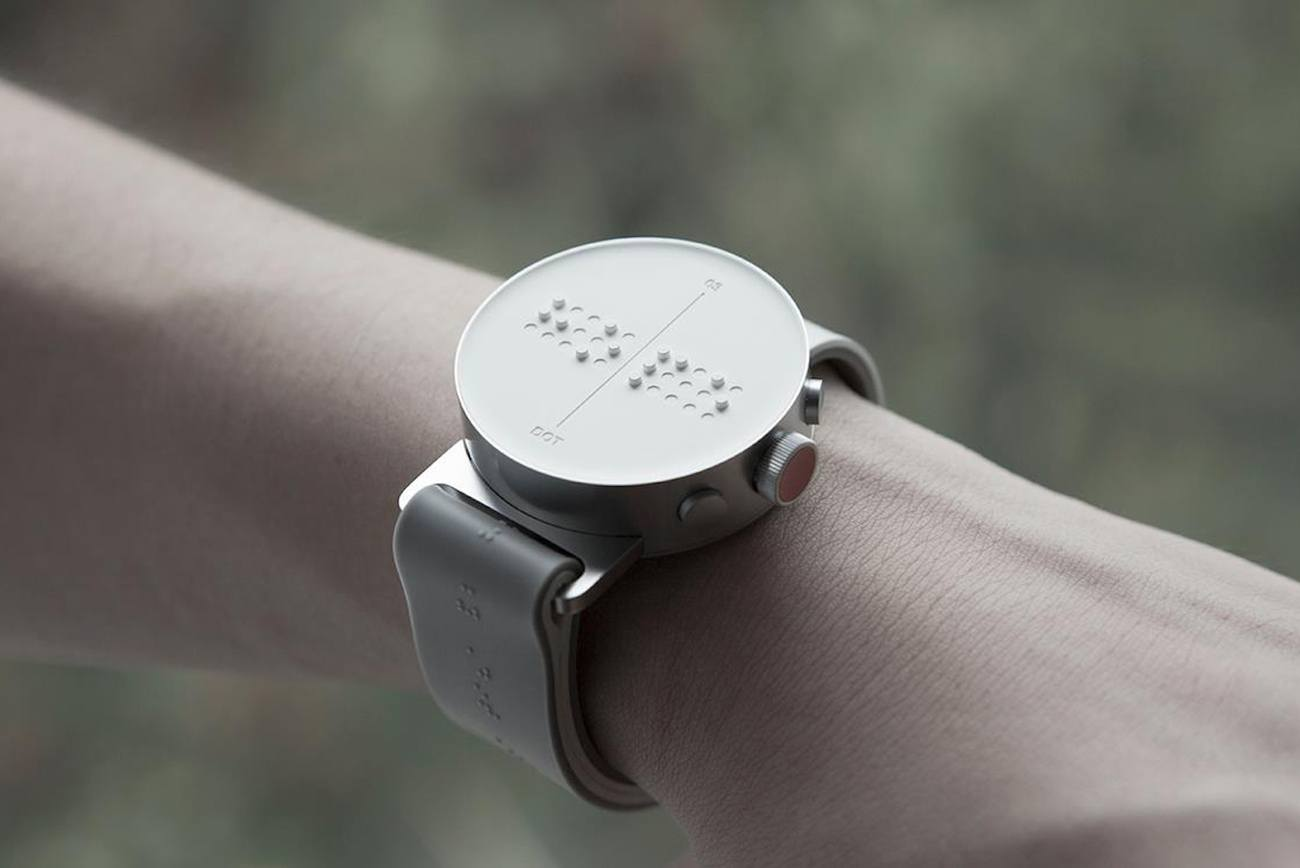 The world's first Braille smartwatch Finally hit the ...