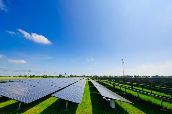 7.46MW solar power plant in Korat, Thailand
