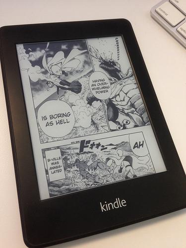 Amazon kindle manga paperwhite