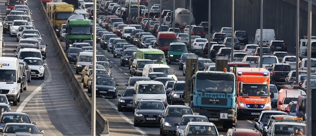 Minimising traffic jams with new technology